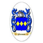 Freeman Sticker (Oval 50 pk)