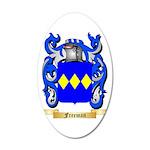 Freeman 35x21 Oval Wall Decal