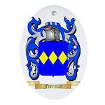 Freeman Ornament (Oval)