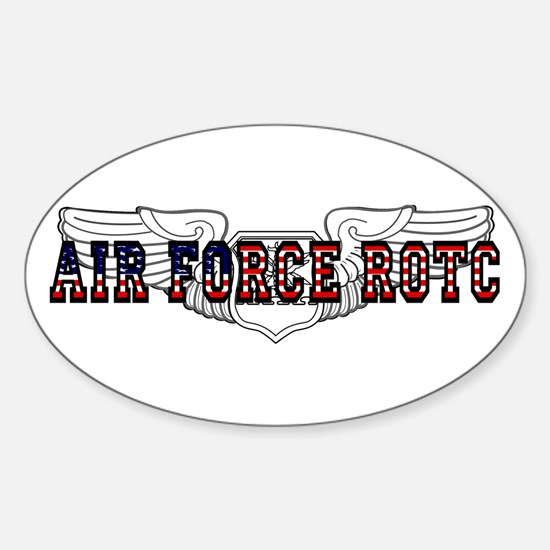 ROTC Navigator Wings Oval Decal