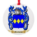 Freeborne Round Ornament