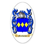 Freeborne Sticker (Oval 50 pk)