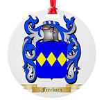 Freeborn Round Ornament