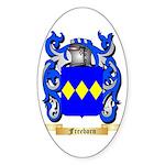 Freeborn Sticker (Oval 50 pk)