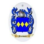 Freeborn Ornament (Oval)