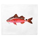 Rosy Goatfish King Duvet