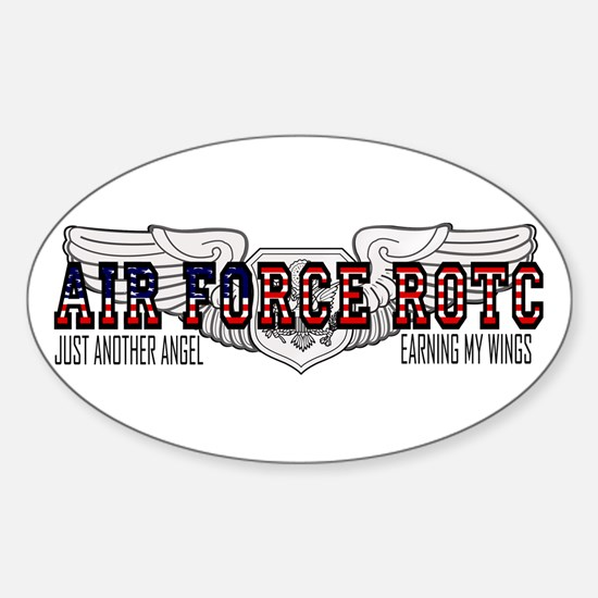 ROTC Officer Aircrew Oval Decal