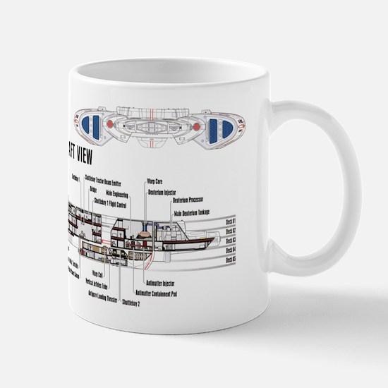 U.s.s. Defiant Mug Mugs