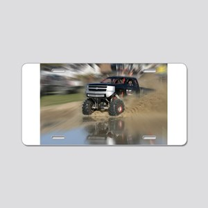 BlackWidow140301Aa Aluminum License Plate