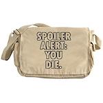 Spoiler Wht Messenger Bag