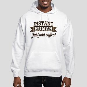 Instant Human Hooded Sweatshirt