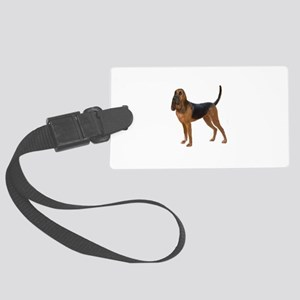 Bloodhound (stand) Large Luggage Tag