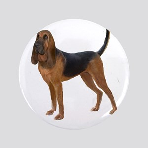 "Bloodhound (stand) 3.5"" Button"