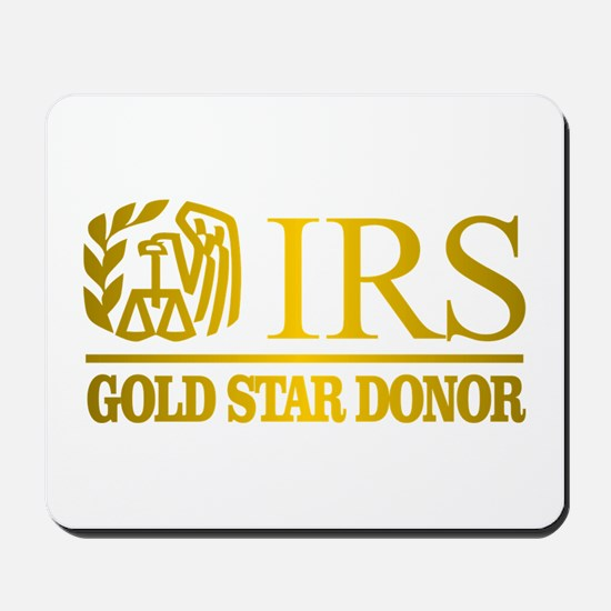 IRS (Gold Star Donor) Mousepad