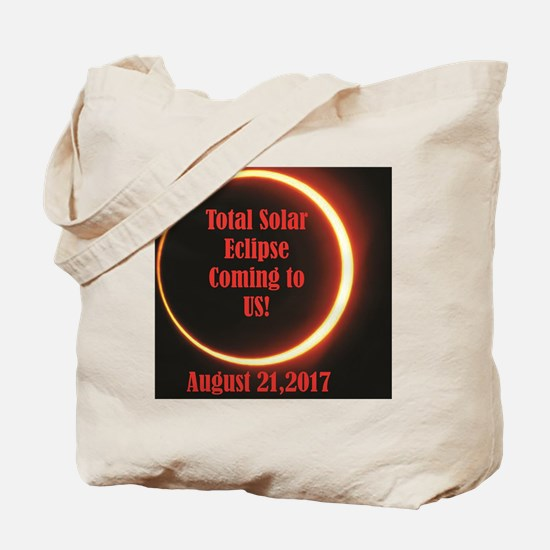 eclipse in US Tote Bag