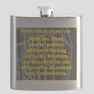 South Dakota Dumb Law 002 Flask
