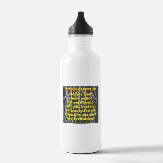 South Dakota Dumb Law 002 Water Bottle