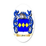Free Oval Car Magnet