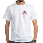 Fredrric White T-Shirt