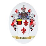 Fredrric Ornament (Oval)