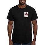 Fredrick Men's Fitted T-Shirt (dark)