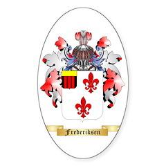 Frederiksen Sticker (Oval)