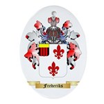 Frederiks Ornament (Oval)