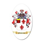 Fredericia 20x12 Oval Wall Decal