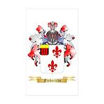 Frederichs Sticker (Rectangle 50 pk)