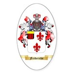 Frederichs Sticker (Oval 50 pk)