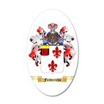 Frederichs 20x12 Oval Wall Decal