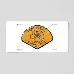 Carson City Park Ranger Aluminum License Plate