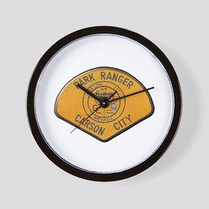 Carson City Park Ranger Wall Clock
