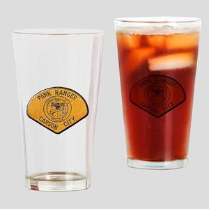 Carson City Park Ranger Drinking Glass