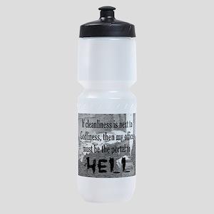 office portal hell :) Sports Bottle