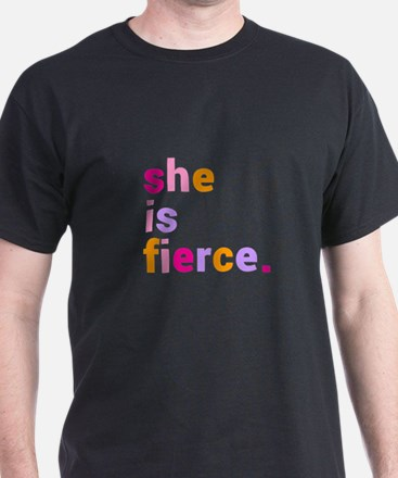 She if Fierce Colors T-Shirt