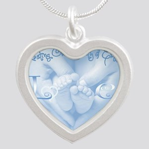 Lasting Over Variety Emotion Silver Heart Necklace