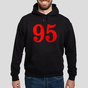RED #95 Hoodie (dark)
