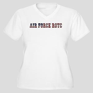 AFROTC Pride Women's Plus Size V-Neck T-Shirt
