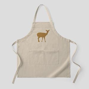Brown Deer Doe Apron