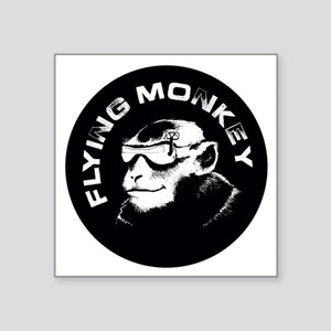 "fpv monkey Square Sticker 3"" x 3"""