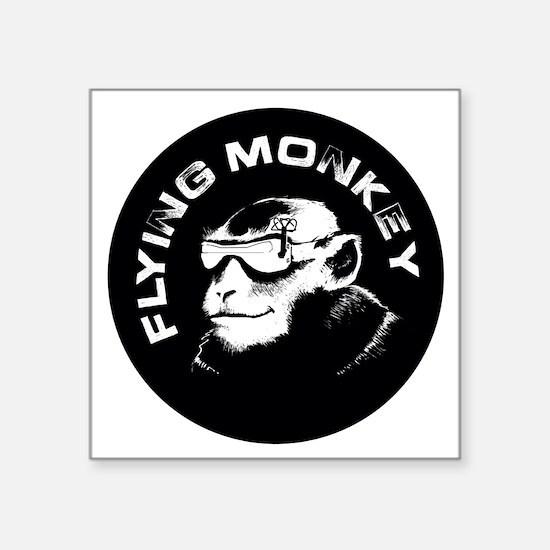 "fpv monkey Square Sticker 3"" x 3"""