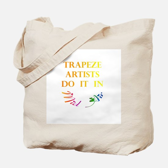Trapeze Artists Gift Tote Bag
