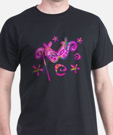 Colorful Theatre Mask T-Shirt