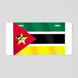 Flag of Mozambique Aluminum License Plate