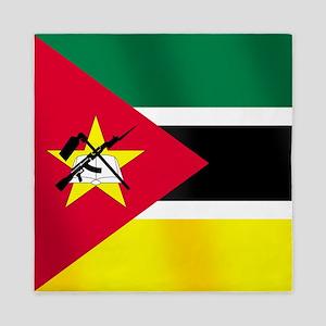 Flag of Mozambique Queen Duvet