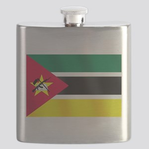 Flag of Mozambique Flask