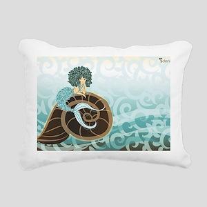 100mil caracoles Rectangular Canvas Pillow