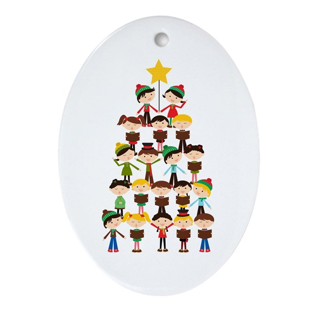 Christmas carol ornament by playtimeandparty