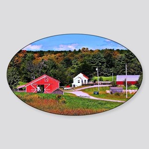 Country Perks Sticker (Oval)